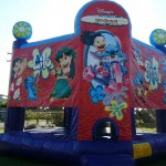 Lilo and Stitch Birthday Jumping Castle