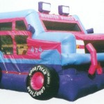 Monster Jeep Jumping Castle