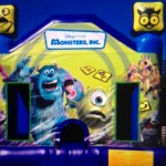 Monsters Inc Jumping Castle Birthday Party