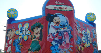 Lilo and Stitch Jumping Castle
