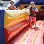 Bungee Run Challenge inflatable fun
