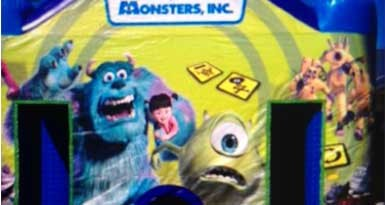 Monsters Inc Jumping Castle