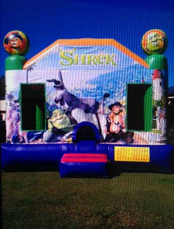 Shrek Jumping Castle for Kids Parties