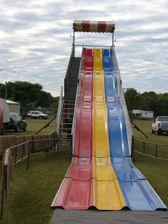 Super Slide Front View