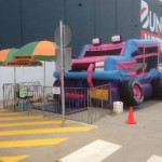 Jeep Jumping Castle