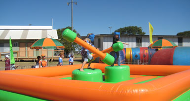 Gladiator Duel Challange Inflatable