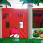 Jumping Castle Slide Combo