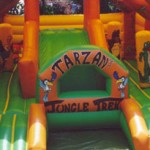 Tarzans Trek Jumping Castle