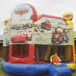 Disney Cars Jumping Castle Slide Combo
