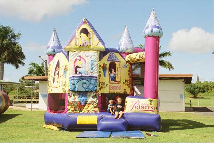 Princess Jumping Castle Slide Combo