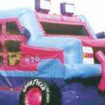 Monster Truck Jumping Castle