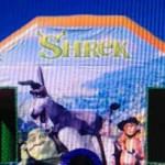 Shrek jumping castle